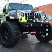 Jeep JK Parachoque Delantero Stubby – 1