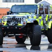 Jeep JK Parachoque Delantero Stubby