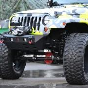 Jeep JK Parachoque Delantero Stubby – 2