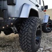 Jeep JK Parachoque trasero elite con porta caucho-1